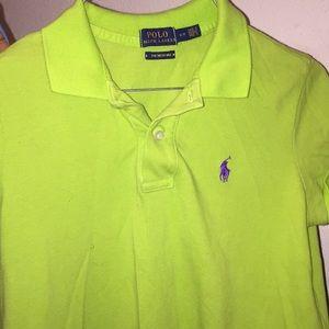 Lime green Ralph Lauren Polo dress. Only worn 2x.